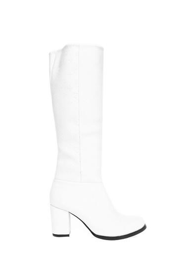 Pierre Cardin Çizme Beyaz